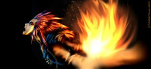 Angry Axel D: by BeagleTsuin