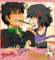 :AA: POLLO pocky game - te matare- by NaMy-BoT