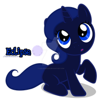 Filly Eclipse by LisaJennifer