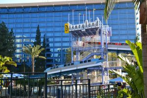Monorail Pool Slide at Disneyland Hotel by Anime-Ray