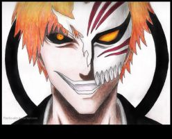 Hollow Ichigo by Psycho-Aliz