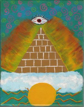pyramid in the sky by doonlet