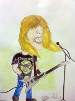 Dave Mustaine by MinaElvis