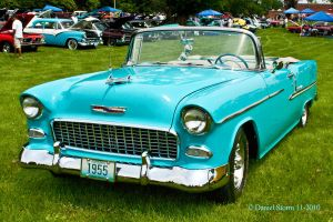 1955 Chevrolet Bel Air by StormPix