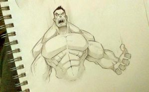 New Sketchbook - Hulk by COLOR-REAPER