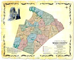 The Wake County, NC, Mill Map by grandagon