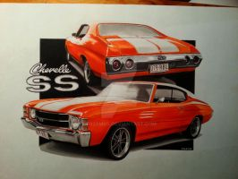 '71 Chevelle SS by przemus