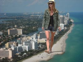 Nicky hilton in Miami by lowerrider