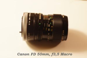 Canon Macro Lens by DrPatte