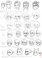 Study: Expressions by The-Nai