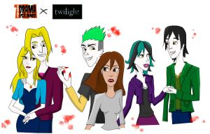 Total Drama Twilight by HiguralllNatume