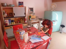 Homework in the kitchen by Ventriloquistic