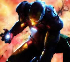 iron man by cronosilverleon