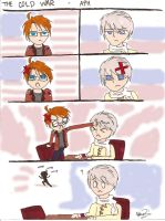 APH- The Cold War by TotalWeirdo666