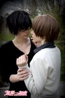Sekaiichi Hatsukoi: Romantic moment by ShadowFox-Cosplay