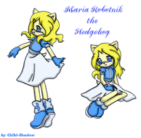 Maria the Hedgehog by Sweet-Chibi-Shadow