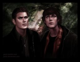 The Winchester Brothers by jasric