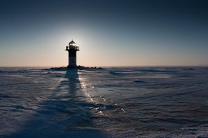 Rivinnokka Lighthouse by Lehenkary