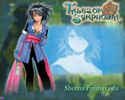 Tales of Symphonia - Sheena by mewtwo-EX