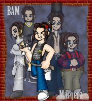 Jackass - Bam Margera by tobecontuvred