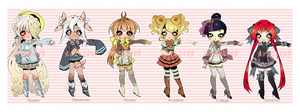 CLOSED: SCHOOL UNIFORM ADOPTABLE AUCTION by Lolisoup