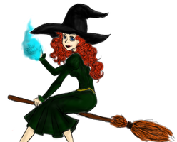 Merida Witch by BellAnska