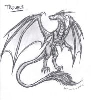 Trouble by Shinigami-Souls
