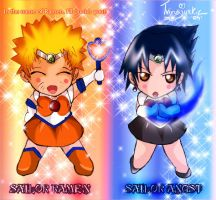 Naruto Sailor Moon Crack by TVirusJunkie