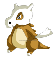 Pokedex #104: Cubone by izka197