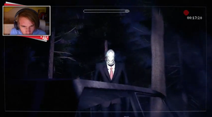 Slender  The Arrival   Beta   PewDiePie by DA-AuoraVirus