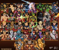 MORTAL KOMBAT  2011 by XAMOEL
