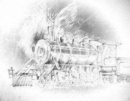 Steam Locomotive Strange Metal by Kozzie001