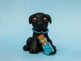 Black Lab by SculpyPups