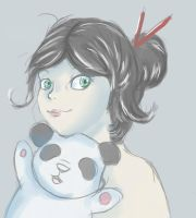 Panda by 123ValerYAA