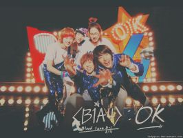 B1A4 - OK Wallpaper by LadyQiao