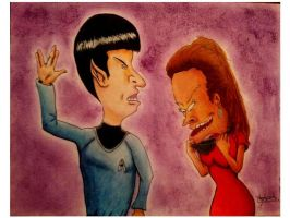 B and B Trek Color by WarriorSmurf