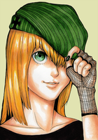 Green Hat by RainbowMarimo