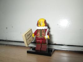 LEGO Movie - William Shakespeare (71004) by KrytenMarkGen-0