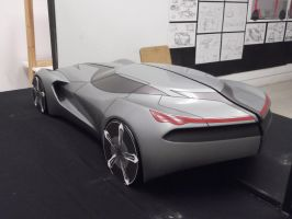 Corvette Clay Model by jp9109
