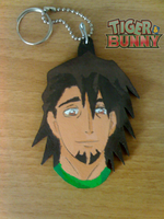 T and B Tiger Keychains by Clare-Sparda