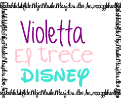 Violetta El Trece Disney PNG Pedido by CutinaEditions