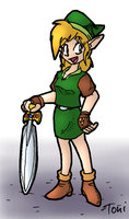 Female Link by bot-chan