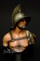 Gladiator - 1st Century A.D(BUST) 1/10 by Williamtsang