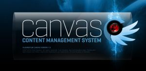 Canvas CMS splashscreen by fredrikpj