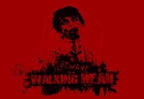 Beware the walking dead by Exart-Design