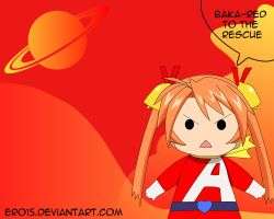 Asuna Baka-Red to the rescue by Ero15