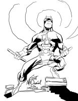 Daredevil Scott McDaniel INKS by JamesLeeStone
