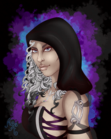 Contest Prize:  Charis 'Caha' Robertson by MischiArt