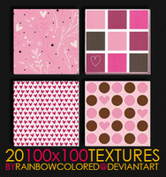 100x100 Textures 6 by rainbowcolored