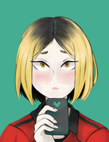 kenma 1 by Oyasumibear